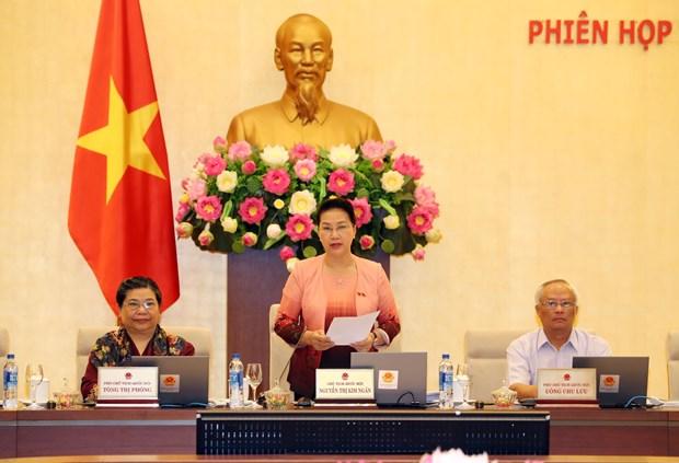 越南国会常委会第二十六次会议在河内开幕 hinh anh 1