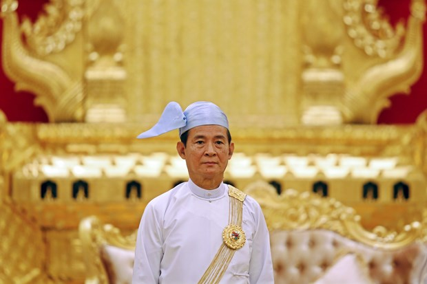 东盟成立51周年:缅甸总统呼吁人民积极参与东盟共同体建设进程 hinh anh 1