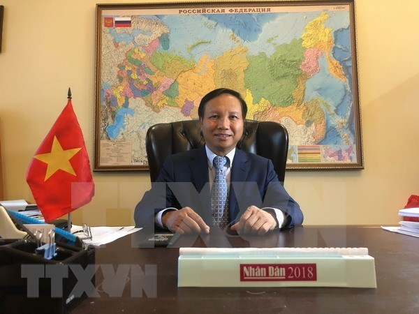 越南与俄罗斯的关系是两国人民的无价之宝 hinh anh 1