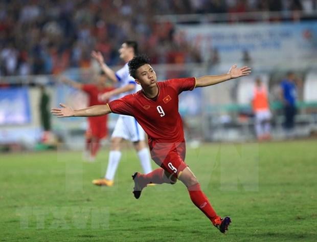 越南U23队夺得2018年VinaPhone杯U23国际足球锦标赛冠军 hinh anh 1