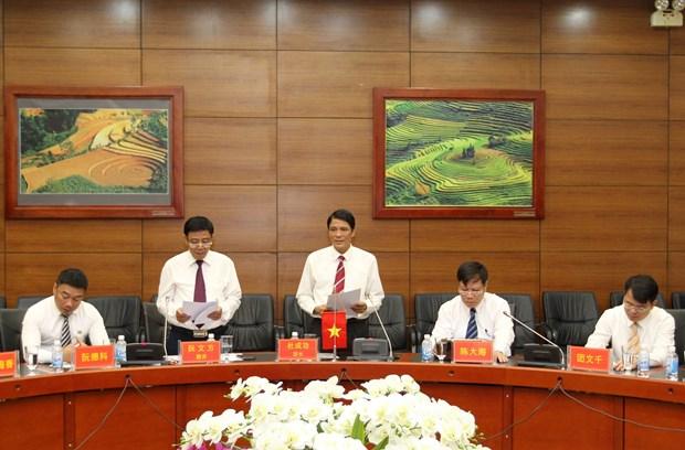 越南老街省与中国云南省建立友好合作关系架起人道领域桥梁 hinh anh 2