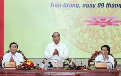 政府总理阮春福:前江省力应在高科技农业等5大支柱上实现发展 hinh anh 2