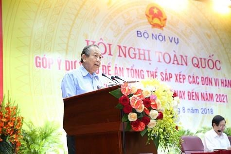越南政府副总理张和平: 在调整行政区划问题上务必征求民众意见 hinh anh 1