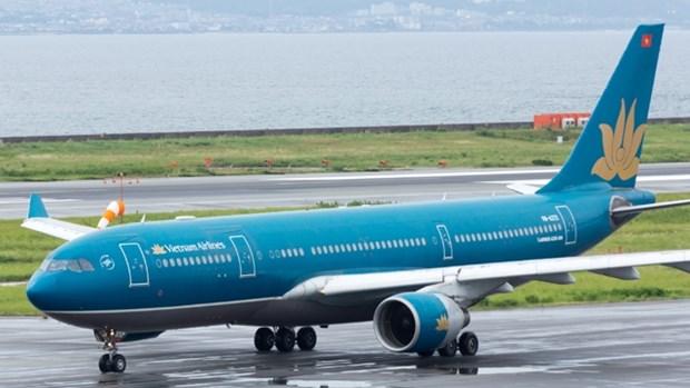"""受台风""""珊珊""""影响越航调整飞往日本的航班计划 hinh anh 1"""