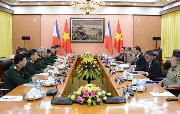 越南与菲律宾加强防务合作 hinh anh 2