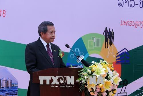 2018年越老技术转让促进论坛在老挝开幕 hinh anh 3