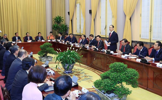 """陈大光:每个驻外代表机构是旅外越南人的""""靠山"""" hinh anh 1"""
