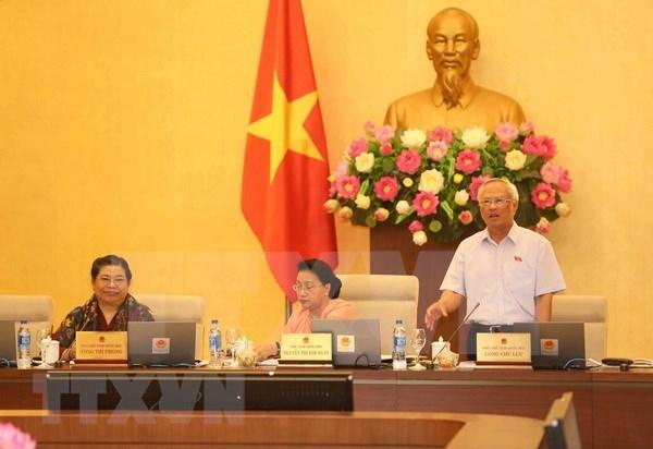 越南第十四届国会常委会第26次会议:广泛征求民众对《教育法(修正案)》(草案)的意见 hinh anh 1