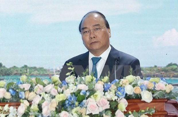 阮春福:前江省将成为九龙江三角洲的发展动力 hinh anh 2
