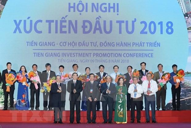 阮春福:前江省将成为九龙江三角洲的发展动力 hinh anh 1