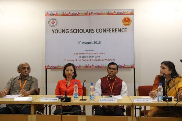 2018年越印青年学者研讨会有助于深化双方关系 hinh anh 1