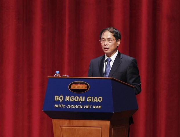 越南副外长裴青山:让越南驻外代表机构和企业界成为彼此的可靠战略伙伴 hinh anh 1