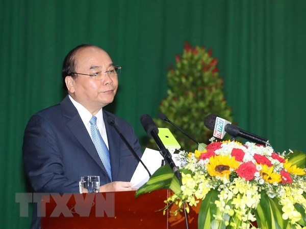 政府总理阮春福希望芹苴大学将成为亚洲一流大学之一 hinh anh 1