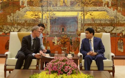 河内市将协助德国驻越大使馆成功举办文化节 hinh anh 1