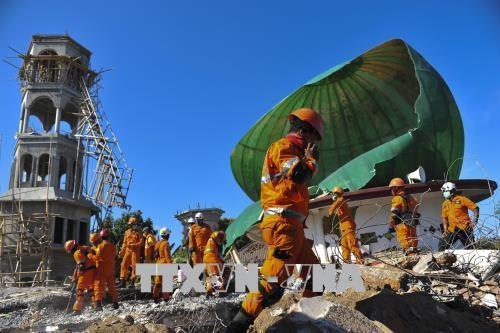 印尼地震:韩国提供50万美元救灾援助 hinh anh 1
