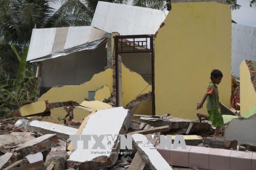 印尼地震:韩国提供50万美元救灾援助 hinh anh 2