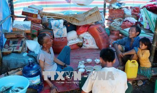 越南政府决定向莱州省灾民发放大米 hinh anh 1