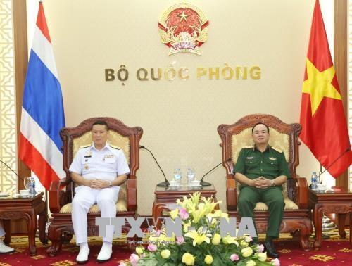 越泰两国海军促进合作 hinh anh 1