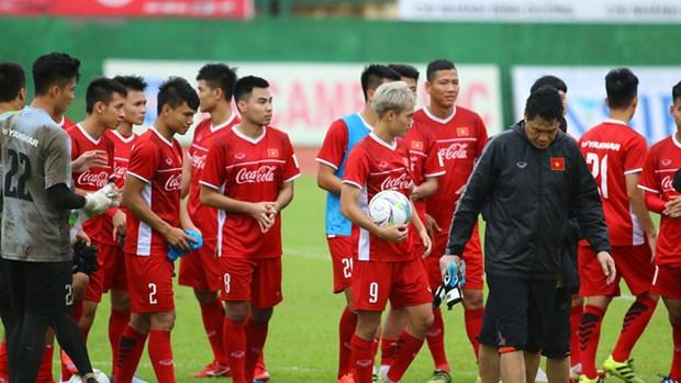 印度尼西亚第18届亚运会:越南球队已抵达印尼 hinh anh 1