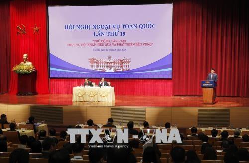 第19次全国外事工作会议:吸引外国非政府组织投资的各项措施 hinh anh 1