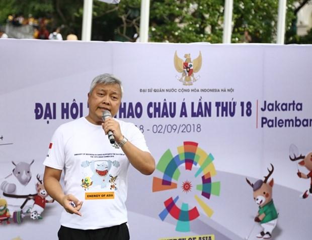2018年亚洲体育大会推介会:传递公平竞赛精神 hinh anh 1