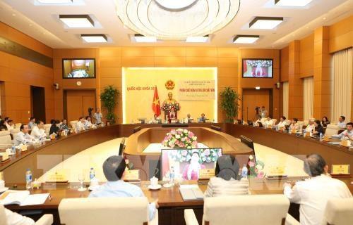 越南国会常务委员会第26次会议闭幕 hinh anh 1