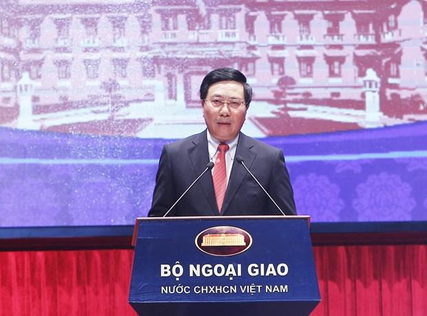 第19届全国外事工作会议:密切协作提升外交工作效率 hinh anh 1
