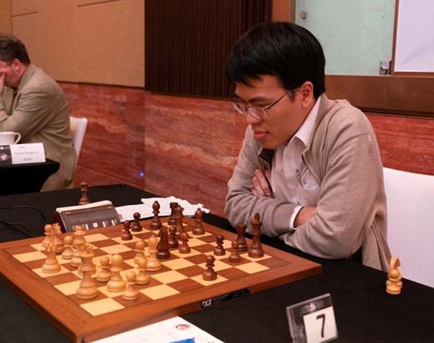 阿布扎比第25届国际象棋节第6轮收官:黎光廉排名上升 hinh anh 1