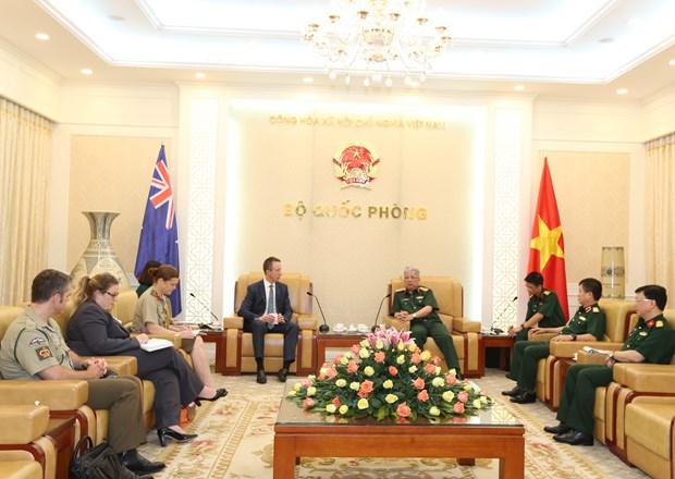 第12次越南与澳大利亚防务合作磋商讨论诸多合作内容 hinh anh 1