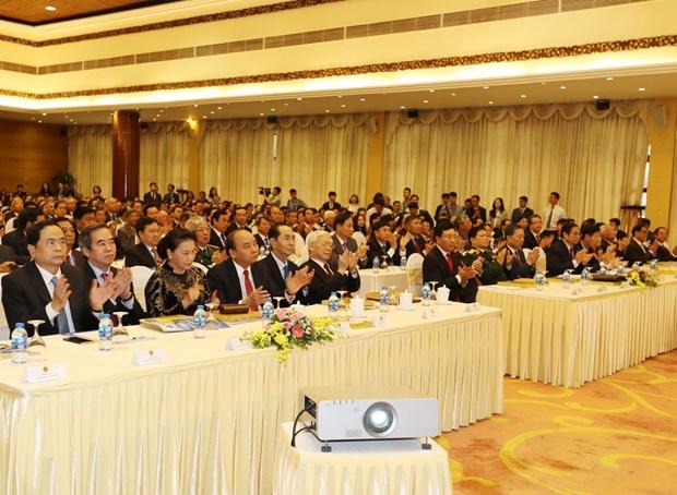 越南第30届外交会议:外交的三大支柱须共同创造巨大影响力 hinh anh 1