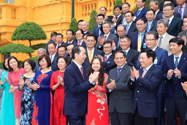 陈大光:进一步改进关于对外工作和国家发展的思想 hinh anh 1