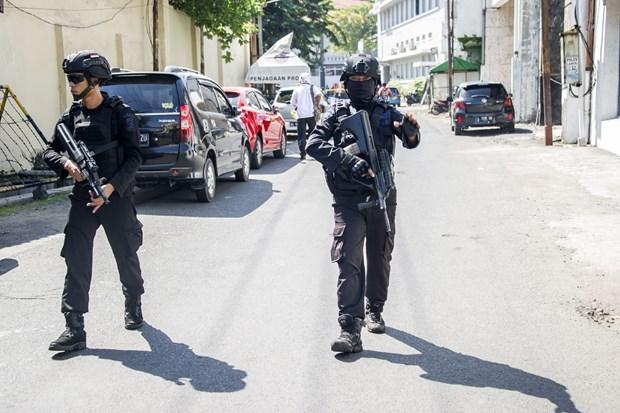 印尼警方逮捕与IS有关联的恐怖团伙 hinh anh 2