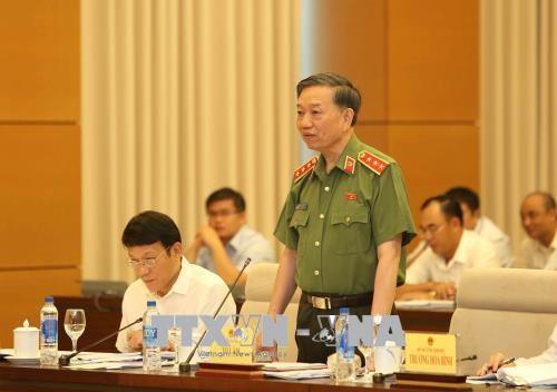 越南公安部部长苏林:杜绝高考舞弊涉事者成为漏网之鱼 hinh anh 1