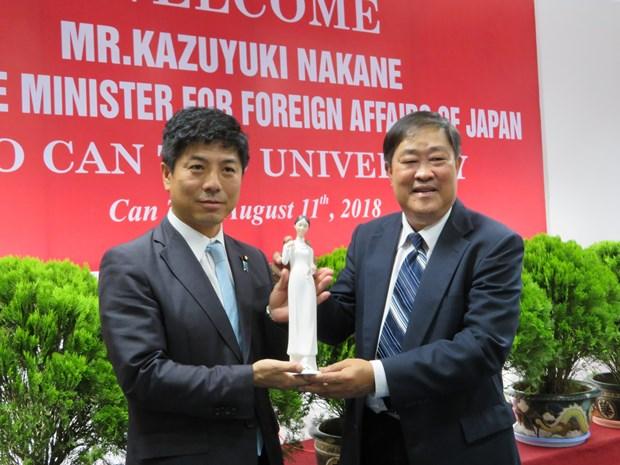 日本承诺协助芹苴大学进行升级改造 使其满足国际标准 hinh anh 1