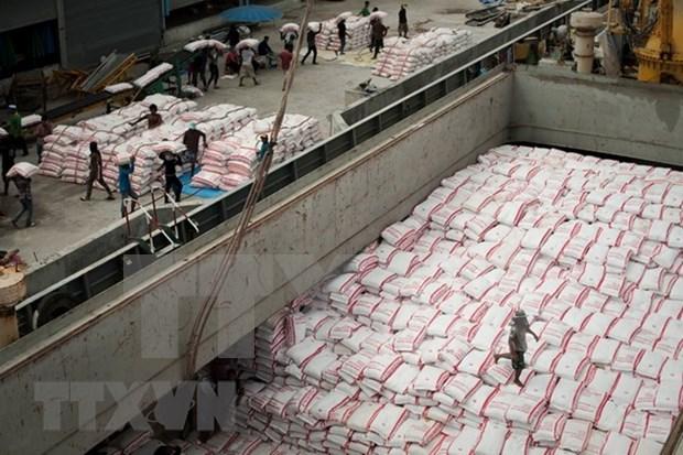 泰国将2018年大米出口目标上调至1100万吨 hinh anh 1