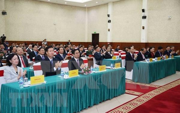越共第十二届中央委员会委员更新知识班开班 hinh anh 2