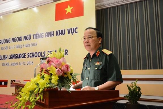 提高地区各国军事学校英语教学质量 hinh anh 1