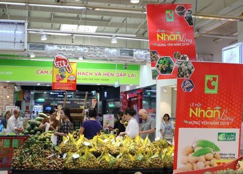 2018年河内兴安龙眼周将在河内升龙Big C超市举行 hinh anh 1