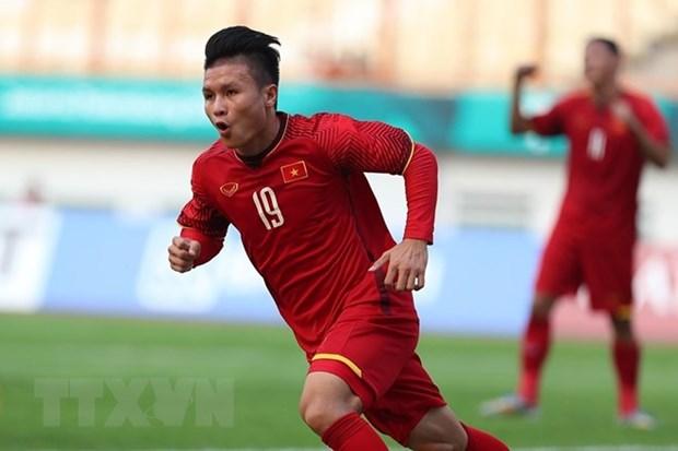 ASIAD 2018:越南国家奥林匹克足球队引发国际媒体轰动 hinh anh 1