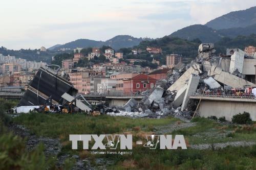 意大利大桥坍塌:尚未有越南公民伤亡报告 hinh anh 1