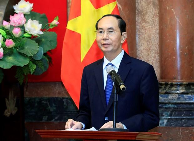 """国家主席陈大光:发挥""""海警与渔民同行""""模式的效果 hinh anh 2"""