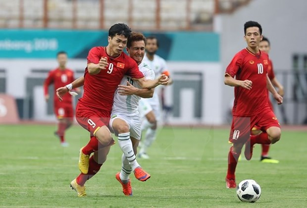 ASIAD 2018:越南国家奥林匹克足球队引发国际媒体轰动 hinh anh 2