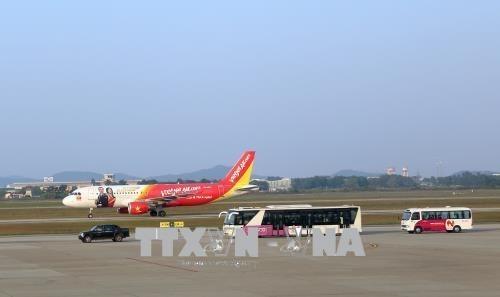 暴雨致胡志明市机场国际航班大面积受影响 hinh anh 1