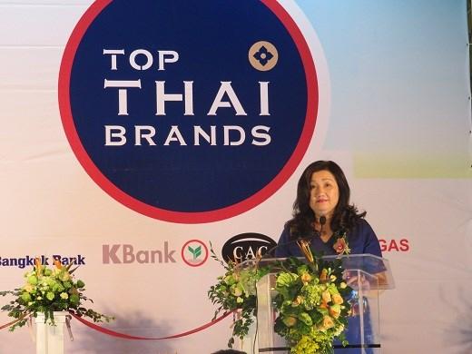 2018年泰国顶尖品牌展在河内举行 hinh anh 2