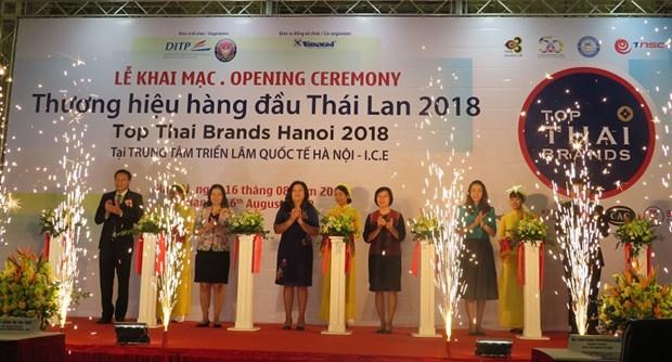 2018年泰国顶尖品牌展在河内举行 hinh anh 1