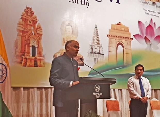 印度独立日71周年纪念典礼在河内举行 hinh anh 1
