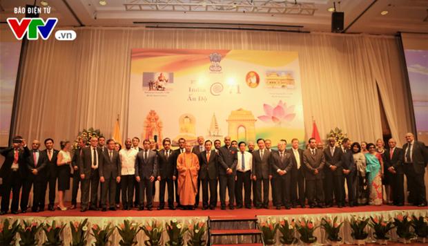 印度独立日71周年纪念典礼在河内举行 hinh anh 2