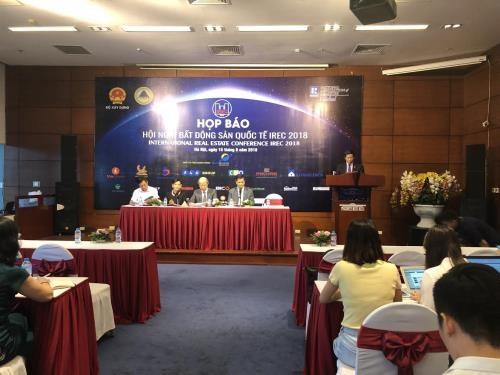 2018年国际房地产会议即将亮相河内 hinh anh 1