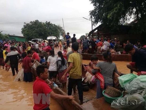 湄公河委员会帮助老挝检查和提升水电站发展战略计划 hinh anh 1