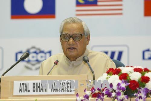 越南领导人就印度前总理瓦杰帕伊去世向印方致慰问电 hinh anh 1